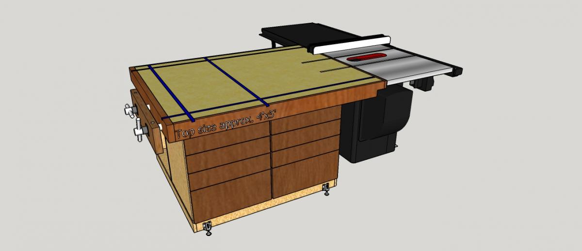 Cool Outfeed Table Work Bench Assembly Table General Ibusinesslaw Wood Chair Design Ideas Ibusinesslaworg