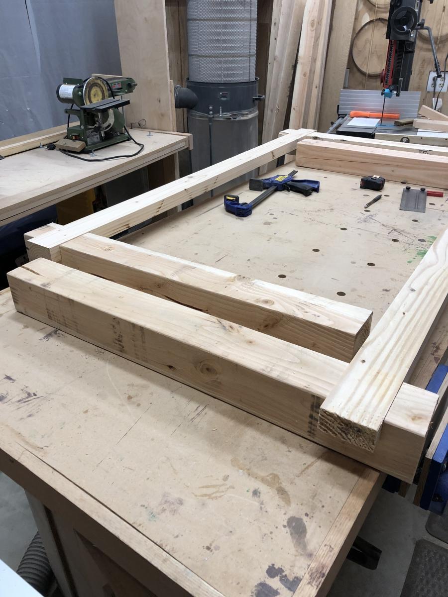 Sensational Reloading Bench And Utility Desk Project Journals Wood Short Links Chair Design For Home Short Linksinfo