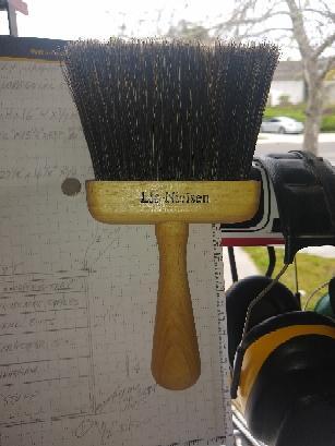 Lie-Neilsen Brush Hung Up..jpg